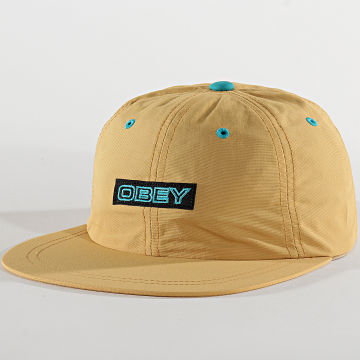 Obey - Casquette Sherman 6 Panel Camel
