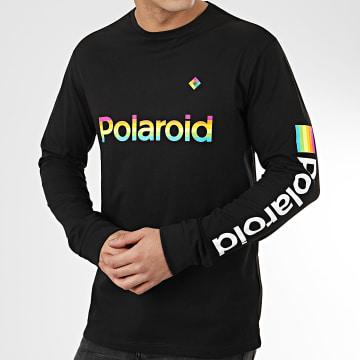 Tee Shirt Manches Longues Polaroid 22015963 Noir