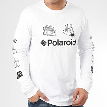 Tee Shirt Manches Longues Polaroid 22015963 Blanc