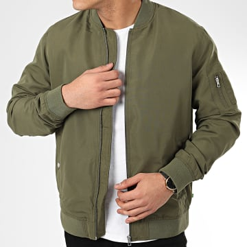 Only And Sons - Bomber Jack 22015866 Vert Kaki