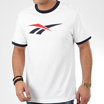 Tee Shirt Classic D Ringer FK2510 Blanc