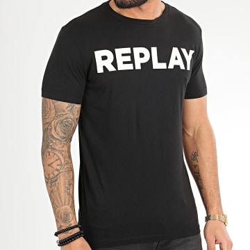 Replay - Tee Shirt M3594-2660 Noir