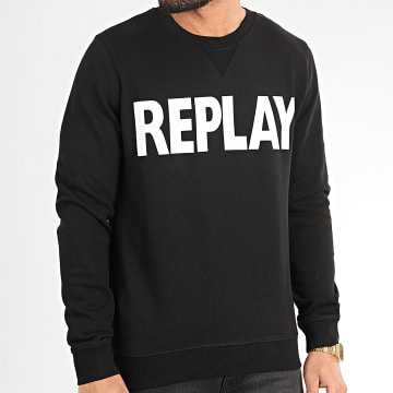 Replay - Sweat Crewneck M3666-21842 Noir
