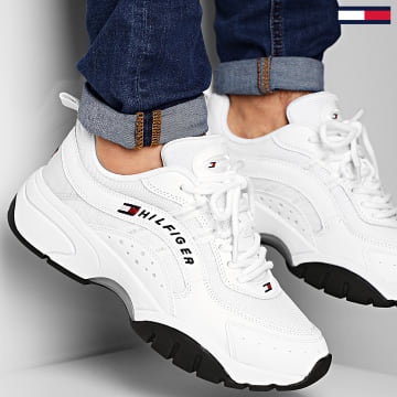 Baskets Heritage Tommy Jeans Sneaker 0397 White
