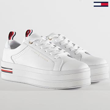Baskets Femme Modern Platform 4851 White