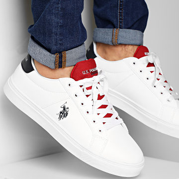 US Polo ASSN - Baskets Sean Club White