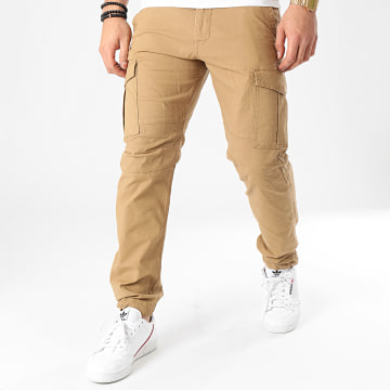 Jack And Jones - Pantalon Cargo Rob Alfa Akm 906 Vert Kaki