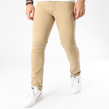 Jack And Jones - Jean Slim Glenn Beige