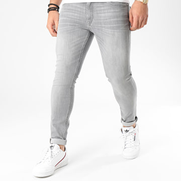 Jack And Jones - Jean Skinny Liam Original Gris