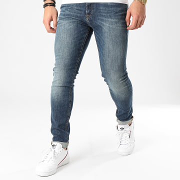 Jack And Jones - Jean Skinny Liam Original Agi 005 Bleu Denim