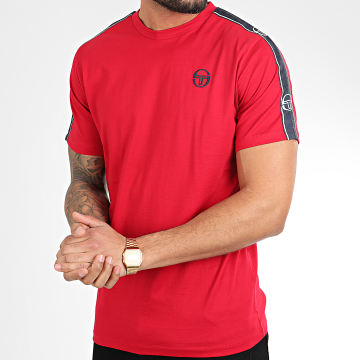 Tee Shirt A Bandes Feather 38536 Rouge
