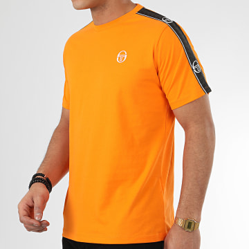 Tee Shirt A Bandes Feather 38536 Orange