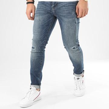 Jean Skinny 02 Travis M7010021A Bleu Denim