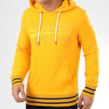 Superdry - Sweat Capuche VL Embroidered M2010111A Jaune