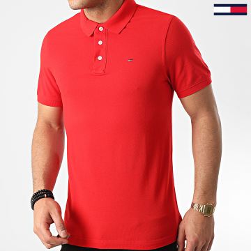 Tommy Jeans - Polo Manches Courtes TJM Nos 8068 Rouge