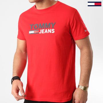 Tee Shirt Corp Logo 7843 Rouge