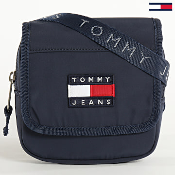 Tommy Jeans - Sacoche Heritage Flap Xover 5976 Bleu Marine