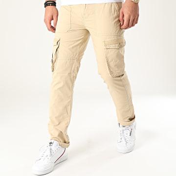 American People - Pantalon Cargo Means Beige