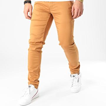 Pantalon Chino Motor Camel