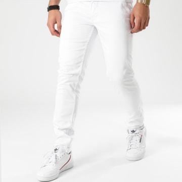 American People - Pantalon Chino Motor Blanc