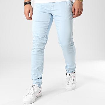Pantalon Chino Motor Bleu Clair