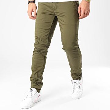 Pantalon Chino Motor Vert Kaki
