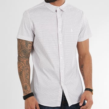 American People - Chemise Manches Courtes Mave Blanc