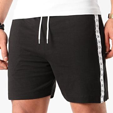 Calvin Klein - Short Jogging A Bandes 0476 Noir