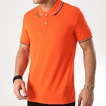 Celio - Polo Manches Courtes Necetwo Orange