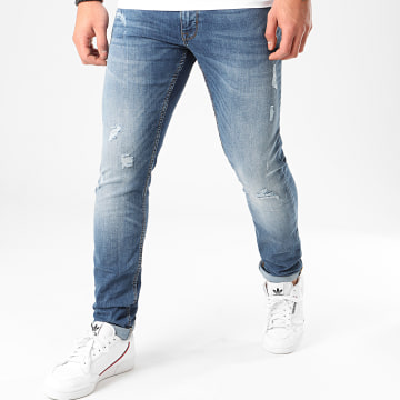 Celio - Jean Slim Ropatch Bleu Denim