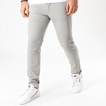 Celio - Pantalon Chino Slim Prime Gris