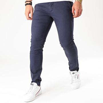 Celio - Pantalon Chino Slim Prime Bleu Marine