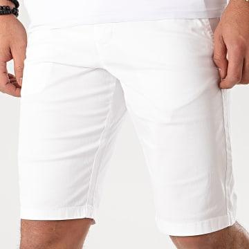 Celio - Short Chino Slack Blanc