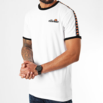 Tee Shirt A Bandes Judd SLB10139 Blanc