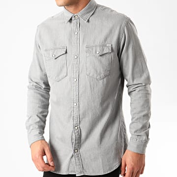 Chemise Manches Longues Sheridan Gris