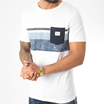 Tee Shirt Poche Langley Blanc