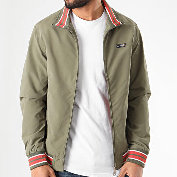 Jack And Jones - Veste Zippée Flint Vert Kaki