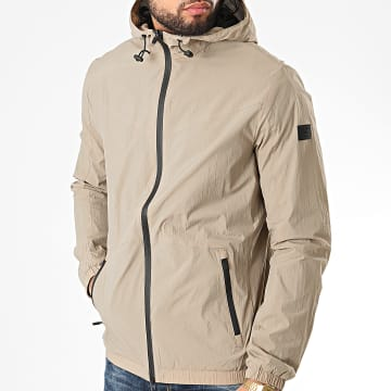 Jack And Jones - Coupe-Vent A Capuche Spring Beige