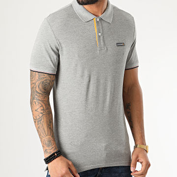 Polo Manches Courtes Chelsey Gris Chiné