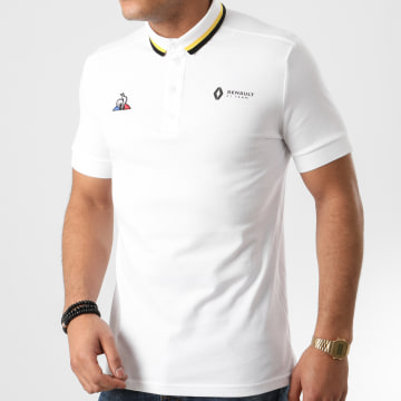 Le Coq Sportif - Polo Manches Courtes Renault Fanwear 20 2010744 Blanc