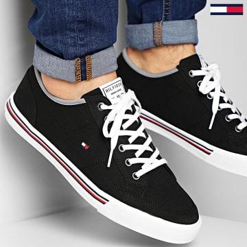 Tommy Hilfiger - Baskets Core Corporate Textile Sneaker 2676 Black