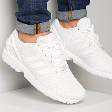 Adidas Originals - Baskets ZX Flux S32277 Cloud White