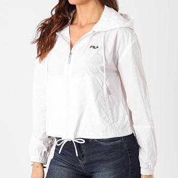 Fila - Coupe-Vent Crop Femme Earlene Blanc