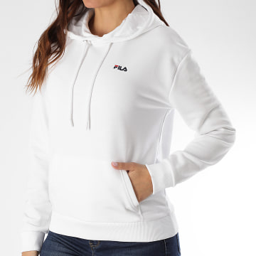 Sweat Capuche Femme Ebba 688052 Blanc