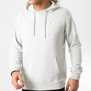 Sweat Capuche Edison 688163 Gris Chiné