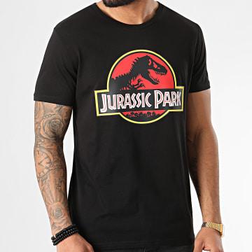 Jurassic Park - Tee Shirt Jurassic Park Original Logo Noir