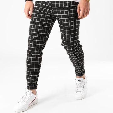 Pantalon A Carreaux 1702 Noir