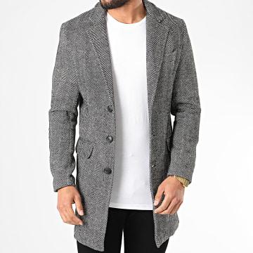 Manteau 2090 Noir Blanc
