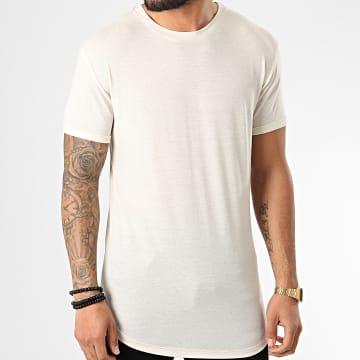 Tee Shirt Oversize 5352 Beige Clair Chiné