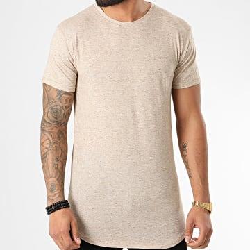 Tee Shirt Oversize 5352 Beige Chiné